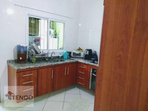 Imagem 1 de 24 de Imob01 - Sobrado 116 M² - 2 Dormitórios - 2 Suítes - Vila Bela Vista - Santo André/sp. - So0072