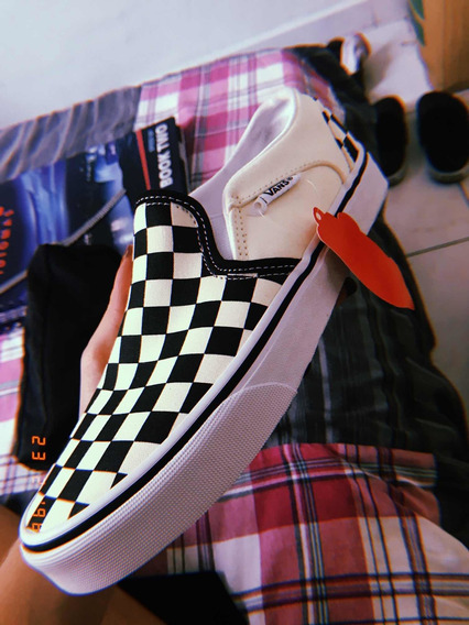 Vans Xadrez Slip On Original