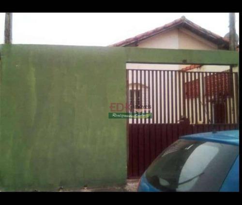 Imagem 1 de 5 de Linda Casa Á Venda No Jardim Emilia - Ca6121