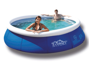 Piscina Inflable Pequeña 2.4 Mts Ecology Instant Up