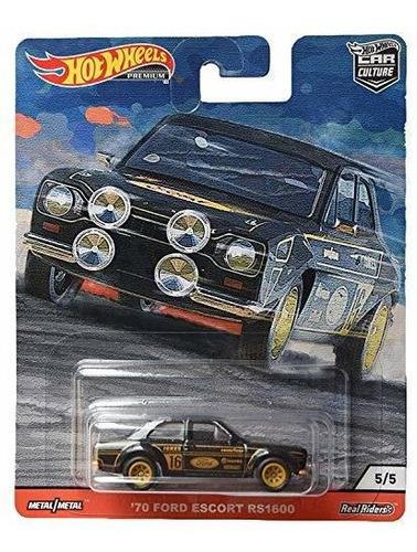 Imagen 1 de 2 de Ruedas Calientes Cultura Del Coche Portazos 70 Ford Escort R