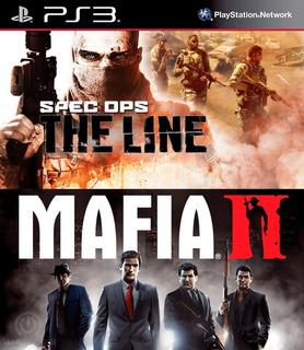 Mafia Ii + Spec Ops: The Line Ps3 Español Gcp
