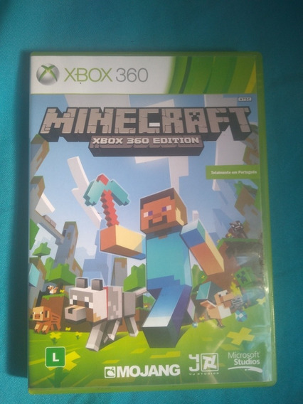 Minecraft Xbox360 Mídia Física