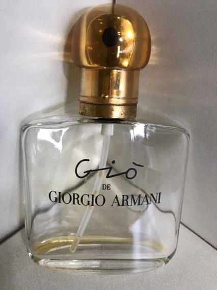 Vidro Perfume Vazio Giò/giorgio Armani-50 Ml