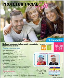 Protetor Facial Family Plascony - 1114