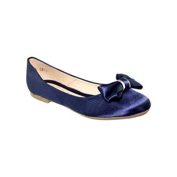 Flats Bonito Satin Color Azul-mod.0090du5822399