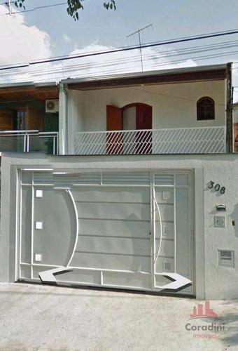 Casa Com 3 Dormitórios À Venda, 180 M² Por R$ 335.000 - Jardim Primavera - Americana/sp - Ca2819