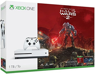 Consola Xbox One S De 1tb - Halo Wars 2 Bundle [discontin...