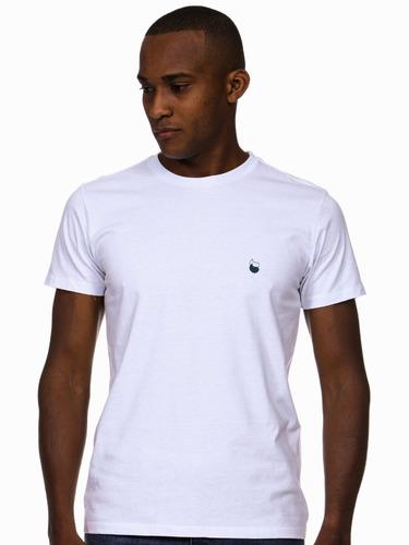 Imagem 1 de 6 de Camiseta Masculina Algodão - Estampa Gota