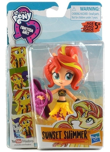 Imagen 1 de 4 de Muñecas My Little Pony Equestria Girls Sunset Shimmer (5900)