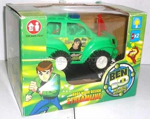 Carrito Ben 10 Todo Terreno Carro Jeep Juguetes Niños Regalo