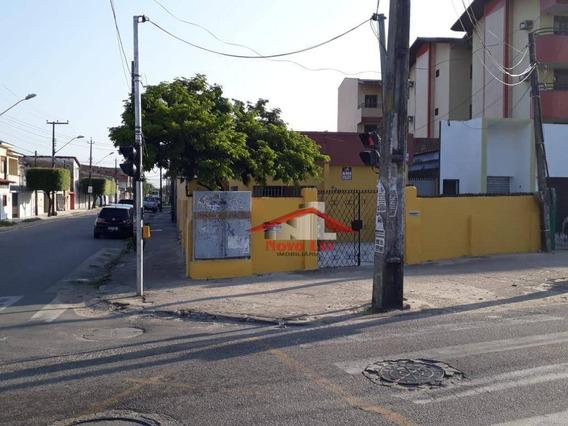 Casa Com 4 Dormitórios Para Alugar, 396 M² Por R$ 1.300/mês - Parangaba - Fortaleza/ce - Ca0213