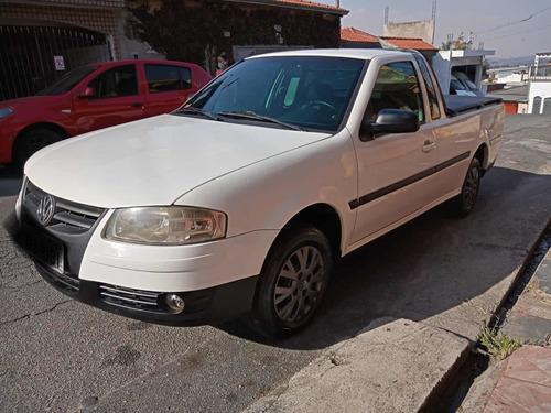 Imagem 1 de 11 de Volkswagen Saveiro 2008 1.6 City Total Flex 2p 101 Hp