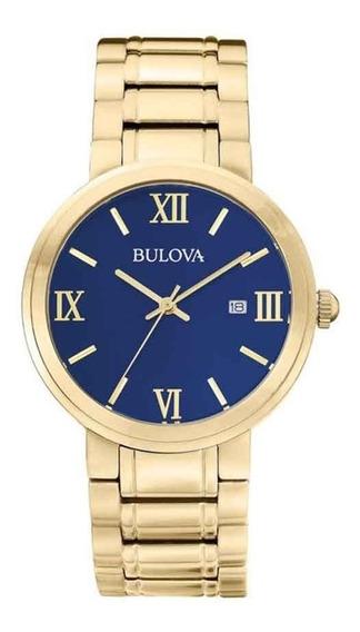 Relógio Bulova Dourado Social Wb26146z