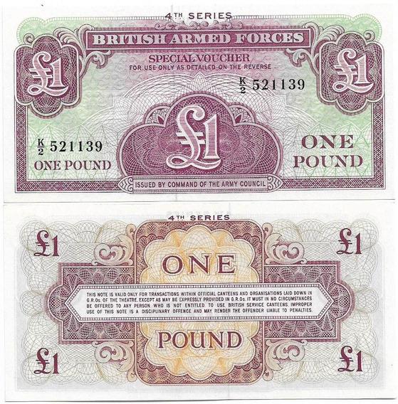 Inglaterra Great Britain 1 Pound Nd1962 Fe 4ª Série P-m36