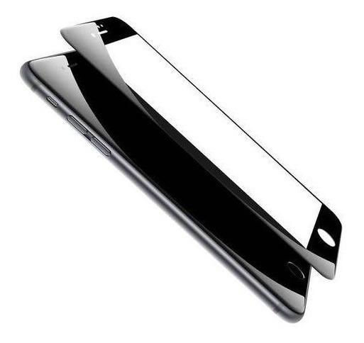 Pelicula De Vidro 5d Para iPhone 8 Plus Tela Inteira Preta