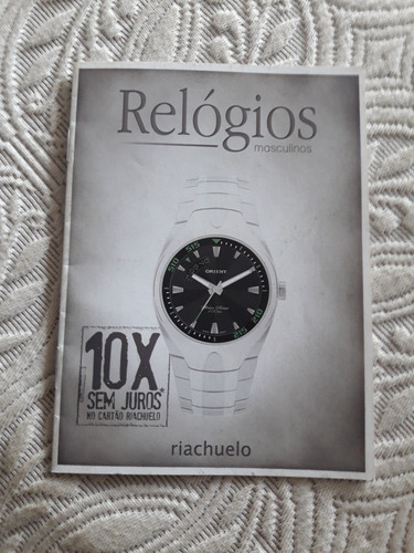 Propaganda De Relógios Masculinos,orient,séculos, 39 Modelos