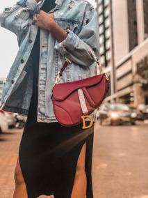 Bolsa Dior Saddle Couro Legitimo - Frete Gratis