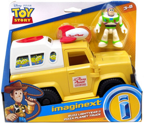 Fisher Price Imaginext Toy Story Carro Da Pizza Buzz Mattel