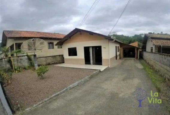 Casa Com 3 Quartos À Venda, 110 M² Por R$ 240.000 - Itoupavazinha - Blumenau/sc - Ca0487