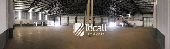 Barracão Para Alugar, 1650 M² Por R$ 16.000/mês - Vila Toninho - São José Do Rio Preto/sp - Ba0160