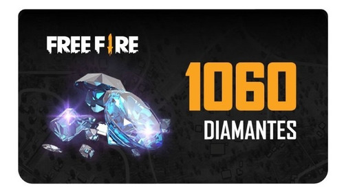 Freefire 1060 Diamantes