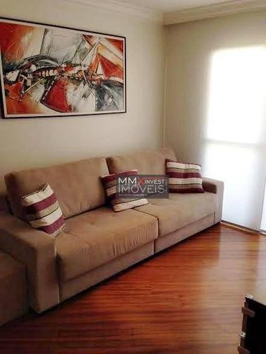 Imagem 1 de 14 de Apartamento Com 3 Dormitórios À Venda, 77 M² Por R$ 580.000,00 - Santa Terezinha - São Paulo/sp - Ap0468