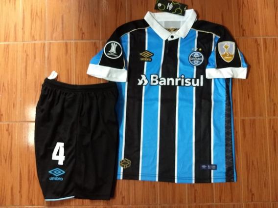 Kit Camiseta Y Short Niños Gremio Kanemann 4