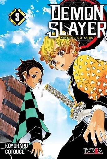 Demon Slayer - Kimetsu No Yaiba # 03 - Koyoharu Gotouge