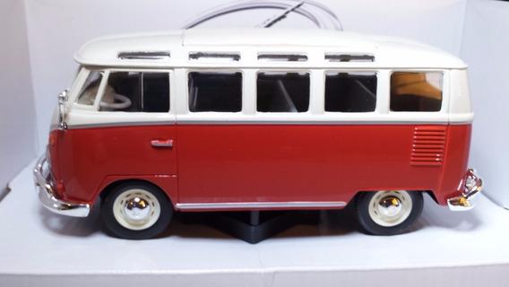 Miniatura Volkswagen Kombi 1:25 Maisto Miniatura Em Metal Co