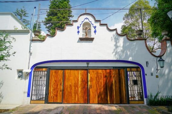 Del Carmen, Magnifica Casa Colonial A 1 Cuadra Del Centro De Coyoacan, En Renta