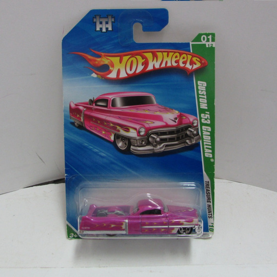 Escala 1/64 Hot Wheels Custon 53 Cadillac Hunts Jorgetrens
