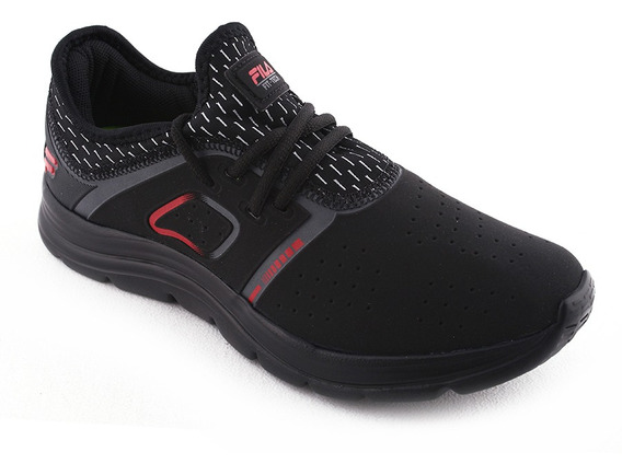 Zapatilla Training Fit Tech Ng/rj Fila Niño