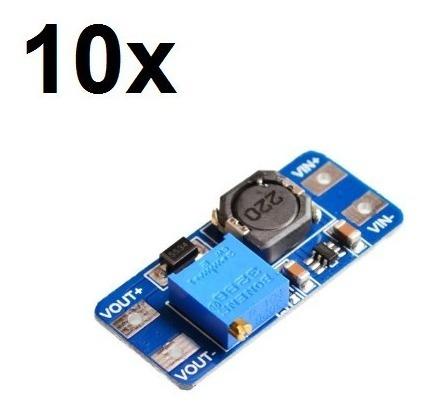 10x Regulador De Tensão Mt3608 Conversor Step Up Arduino