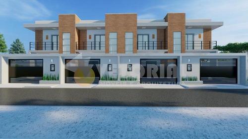 Imagem 1 de 5 de Sobrado Com 2 Dormitórios À Venda, 80 M² Por R$ 280.000,00 - Pontal De Santa Marina - Caraguatatuba/sp - So0328