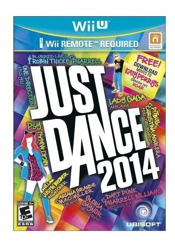 Jogo Just Dance 2014 Nintendo Wii U - Lacrado