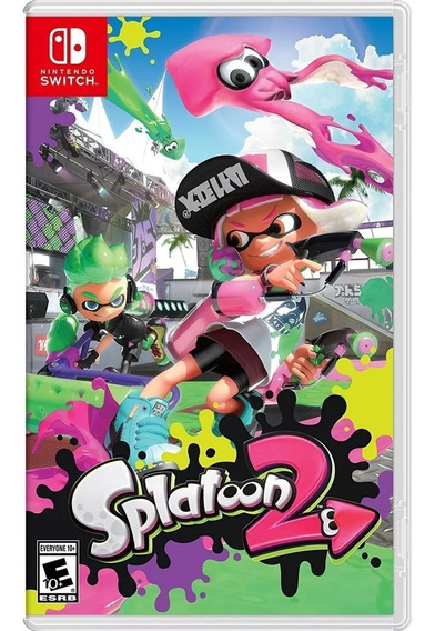 Jogo Nintendo Splatoon 2 Switch Lacrado Original Fisíca