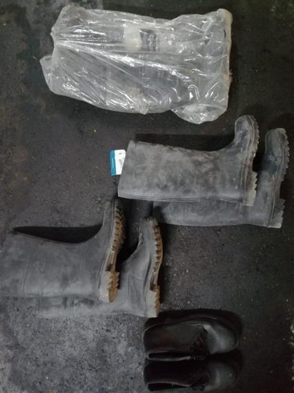 X3 Pares Botas De Seguridad + X1 Par Zapatos De Seguridad