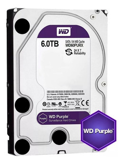 Disco Duro Interno Wd Hd 6tb Sataiii Purple Mg