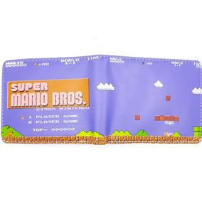 Cartera Gamer Juvenil Geek Super Mario Bros Game A55