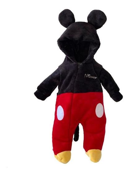 Mameluco Disney Con Gorro Bordado Mickey