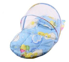 Berço Ninho Moisés Para Bebê Com Mosquiteiro - Frete Grátis
