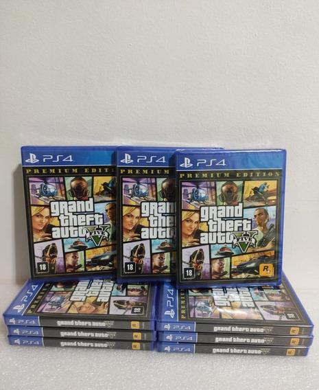 Jogo Gta Grand Theft Auto V Ps4 Mídia Física Envio Imediato