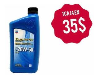 Aceite Mineral 20w-50 Api Sn-plus 3 Vrd 1 Litro Local Físico
