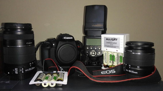 Canon T5, Nova, Muito Nova. Apenas 9k De Clikes