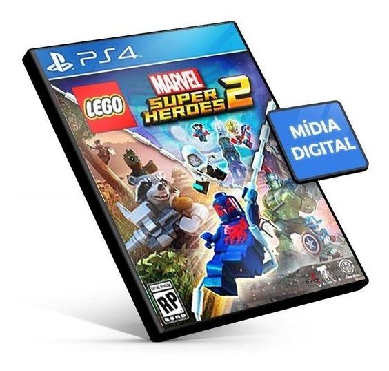 Lego Marvel Super Heroes 2 Ps4 Psn Jogo Digital Envio Agora
