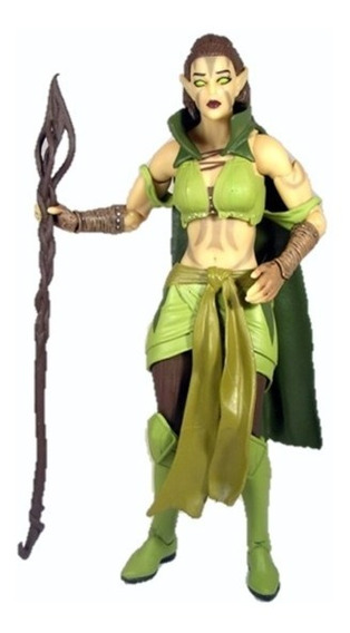 Boneco Nissa Revane Magic The Gathering Legacy Collection.