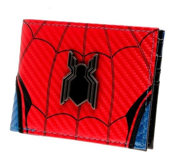 Carteira Homem Aranha Spider Man Spiderman Couro