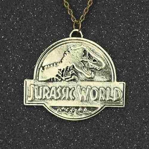 Colar Jurassic World Park Pronta Entrega