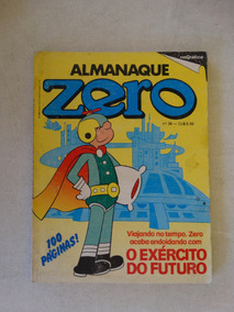 Almanaque Zero Nº 36! Rge Mai-jun 1985!